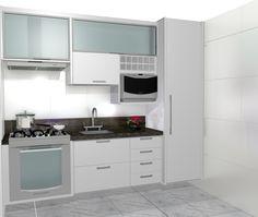 armarios para cozinha de vidro - Pesquisa Google
