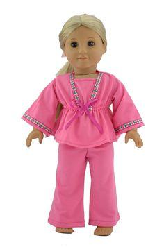 18'' American Girl Doll ClothesPink Empirewaist by greatdeal4girls, $9.99