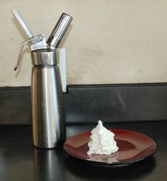 Whipped Cream Canister, I love using whip cream on my coffee, would rather not have the additives/preservatives in storebought stuff.