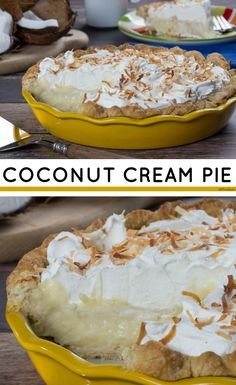 Every slice of our Coconut Cream Pie is heavenly.