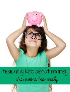 It's never too early to teach kids about money.  Regular dialogue and discussion at any and every age helps to instill the importance of savings and responsible spending. #client