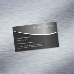 295 best black stainless steel business cards images on pinterest black stainless steel magnetic business card colourmoves