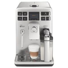 Philips Saeco HD8856/47 Exprelia Automatic Espresso Machine, Stainless Steel