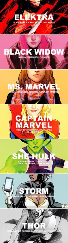 I love Marvel Women!! I think I'm most like Mystique!!