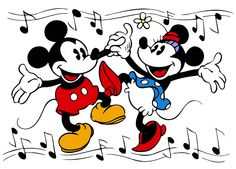 mickey and minnie mouse dancing - Google Search