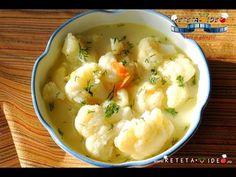 CIORBA DE CONOPIDA - YouTube Vegetarian Recipes, Cooking Recipes, Healthy Recipes, Romanian Food, Romanian Recipes, Healthy Soup, Soup And Salad, Soups And Stews, Soul Food