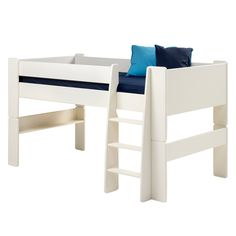 Lit mezzanine Steens for Kids - Blanc