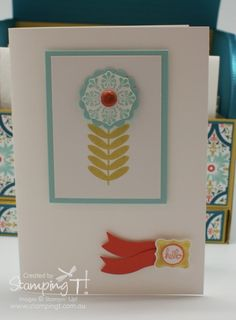 Stampin' Up! Stamping T! - Roller Box Card 4