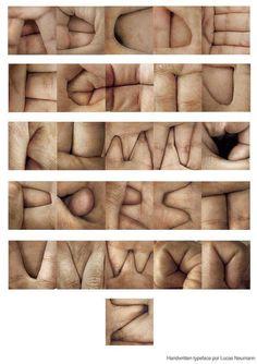 Creative Ffffound, Typographie, and Alphabet image ideas & inspiration on Designspiration Type Design, Web Design, Typographie Fonts, Schrift Design, Hand Fonts, Typography Letters, Hand Typography, Font Art, Hand Type