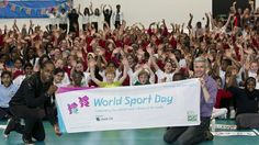 Schools across the UK celebrate London 2012 World Sport Day - London 2012 Paralympics