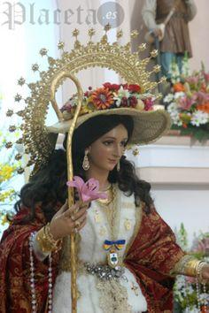Besamanos de la Divina Pastora de las Almas de Chucena. Remitido por Jesús Pérez, de Chucena Cofrade.