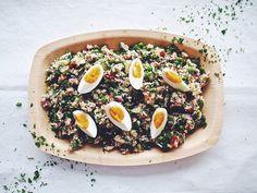 Aito riisisalaatti tonnikalasalaatti italialainen pyttipannu ceviche - Suusta suuhun   Lily.fi