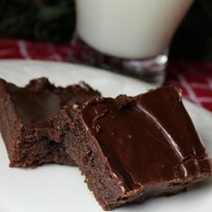 BEST brownies I've ever made! Make with 1 minute choc frosting recipe instead of this frosting