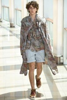 Kolor menswear spring/summer 2016 - click to see full gallery