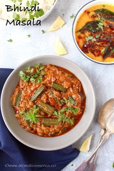 Step-by-step instructions with pictures to make bhindi masala. How to make bhindi masla gravy. Bhindi masala gravy recipe with step by step pictures. Okra Recipes, Curry Recipes, Soup Recipes, Vegetarian Recipes, Cooking Recipes, Healthy Recipes, Vegetarian Barbecue, Chutney Recipes, Barbecue Recipes