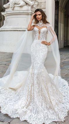 bd92fb522 crystal design 2018 sleeveless strapless deep plunging sweetheart neckline  full embellishment elegant mermaid wedding dress sheer