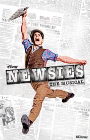 Disney NEWSIES The Musical -- premiers at the Nederlander Theatre on Broadway March 15, 2012! Music by Alan Menken. Directed by Jeff Calhoun. Choreographed by Christopher Gattelli. Lyrics by Jack Feldman. Book by Harvey Fierstein.