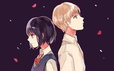 free desktop backgrounds for kuzu no honkai - kuzu no honkai category Kuzu No Honkai Hanabi, Kuzu No Honkai Manga, Scums Wish, Cute Couple Images, Fanart, Otaku Mode, Drama, Manga Drawing, Me Me Me Anime