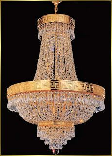 What a beautiful chandelier .