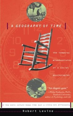 A Geography Of Time: The Temporal Misadventures of a Social Psychologist by Robert V. Levine http://www.amazon.com/dp/0465026427/ref=cm_sw_r_pi_dp_HqkRvb0XQ35D4