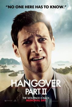The Hangover, Part II , starring .  #