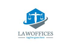 Law Offices Logo Template by gunaonedesign on Creative Market
