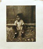 Haiti 2013: Barbara Goldman; Photopolymer Gravure