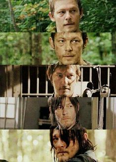Five Seasons Of Daryl Dixon // The Walking Dead // Norman Reedus Walking Dead Zombies, Carl The Walking Dead, The Walk Dead, Walking Dead Season 9, The Boondock Saints, Norman Reedus, Andrew Lincoln, Best Tv Shows, Favorite Tv Shows