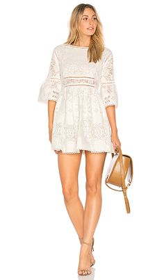 Shop for Spell & The Gypsy Collective Clover Lace Mini Dress in White at REVOLVE. Free 2-3 day shipping and returns, 30 day price match guarantee.