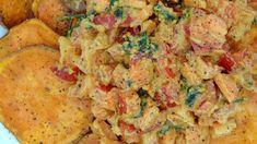 Tortitas de zanahoria y calabacín - Tasty details - Fırın yemekleri - Las recetas más prácticas y fáciles Fried Rice, Potato Salad, Fries, Tasty, Ethnic Recipes, Nachos, Alondra, Omelettes, Food