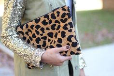 I will never pin enough cheetah/leopard clutches. Or sequins. Ever. Ever ever.