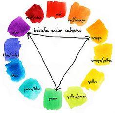 12 Best Triad Color Scheme Images On Pinterest Colors Triad Color