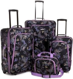 McBrine Luggage 4 Piece Luggage Set | Luggage sets