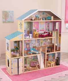 Majestic Mansion Dollhouse Set | I know a little girl who would LOVE this