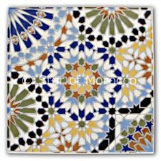 Recent Moroccan Tiles Tile Wall