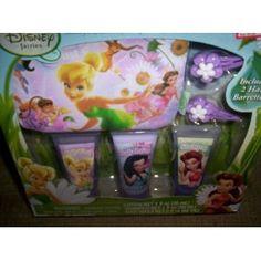 Disney Fairies Pixie Beauty Set Bath Set - Shampoo, Lotion, Body Wash, Barrettes, Purse (Misc.) http://documentaries.me.... B0072NO5AE