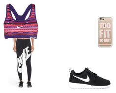 """""""Untitled #32"""" by pizzalove123 on Polyvore featuring NIKE and Casetify"""