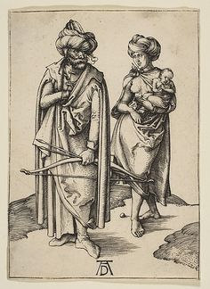 The Turkish Family Albrecht Dürer (German, Nuremberg 1471–1528 Nuremberg) Date: ca. 1496 Medium: Engraving