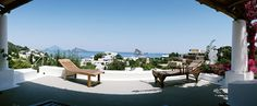 The Hotel Raya at Panarea .... part of the incredible Aeolian Islands