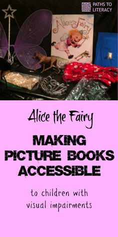 Making picture books accessible to young children with visual impairments