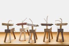 Handmade toys from Monroe Workshop