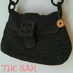 HP!  The Sak Brown Crocheted/Knit Shoulder Bag The Sak Chocolate Brown Flap Shoulder Bag. Excellent Condition! No stains. Mint condition! EUC. Crocheted/knit material. Zip and folding flap closure. DISCOUNTED BUNDLES AND FREE GIFT WITH EVERY PURCHASE! The Sak Bags Shoulder Bags