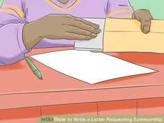 How to Write a Letter Requesting Sponsorship (with Sample Letters ...