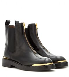Marni Leather Chelsea boots
