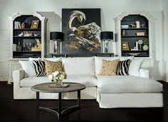 Re-Decorate Your Living Room with Great Ideas from High Fashion Home
