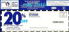 Bed Bath and Beyond Coupons Ends of Coupon Promo Codes MAY 2020 ! Looking for a promotional code for Bed Bath and more? Free Printable Coupons, Free Coupons, Print Coupons, Free Printables, Store Coupons, Grocery Coupons, Online Coupons, Dollar General Couponing, Kitchenaid Artisan Stand Mixer
