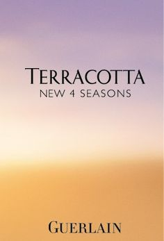 Terracotta Collection 2013 - warm shades