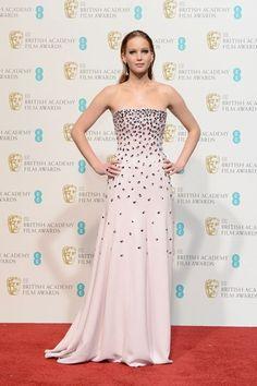 Premios Bafta 2013 - Jennifer Lawrence