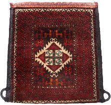Antique Khorjun Donkey Saddle Bag - Click for Detailed Info