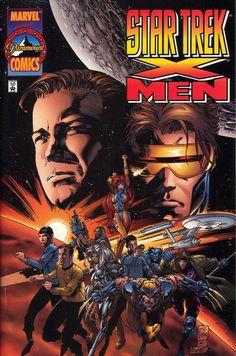 X-men Star Trek crossover